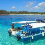 Excursión en barco con fondo de cristal por Blue Bay
